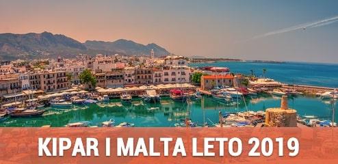 Malta i Kipar Leto 2019