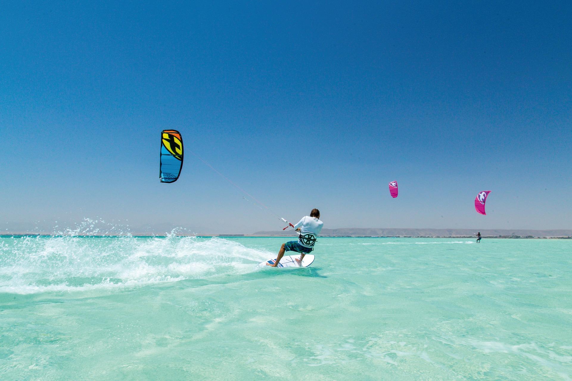 Egipat, raj za sportove na vodi