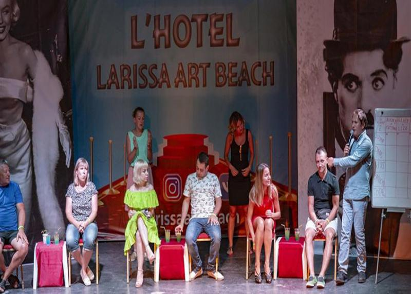 Larissa Art Beach Hotel / Larissa Art Beach Hotel